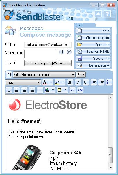 Software de envío de correo masivo